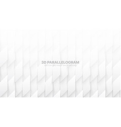 3d parallelograms pattern conceptual abstract vector image