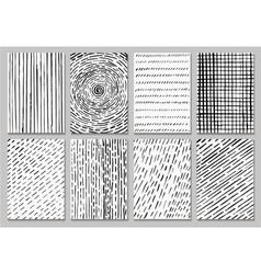 Creative template cards vector