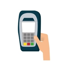 Dataphone transaction payment vector
