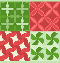 seamless pattern asian style vector image