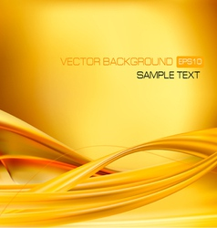 abstract gold neon background vector image vector image