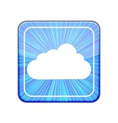 version Cloud icon Eps 10 vector image vector image