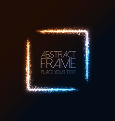abstract frame background 2 vector image