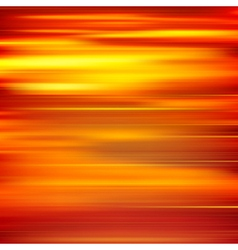 Abstract red yellow motion blur background vector