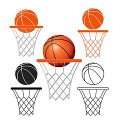 basketball6 vector image