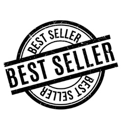 Best Seller rubber stamp vector image