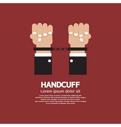 Handcuff vector image