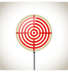 round target vector image