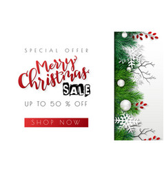 sale promotion banner vector image