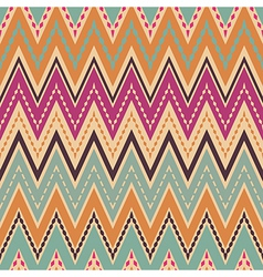Seamless chevron zigzag pattern vector image