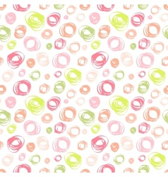 Seamless pattern with hand drawn doodle ornament vector
