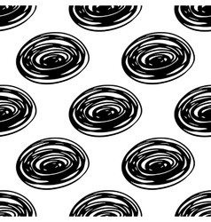 Seamless scribble pattern vector