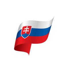 slovakia flag vector image
