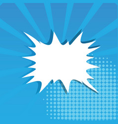 splash background explosion in comics style vector image