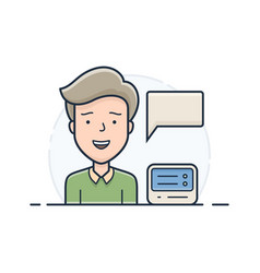 server hosting support vector image