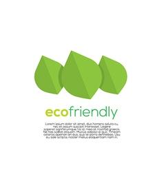 Eco-Friendly Concept vector image