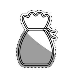 money bag symbol vector image vector image