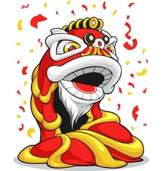 Chinese New Year Lion vector