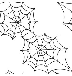 cobweb pattern background vector image