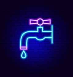Crane neon sign vector