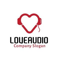 Love Audio Design vector