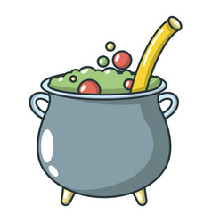 potion icon cartoon style vector image