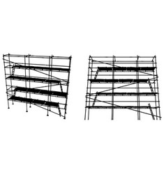 scaffolding vector image