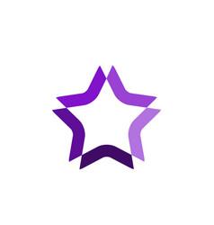 Star template design vector