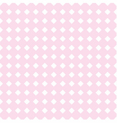 tile pink background or seamless pattern vector image