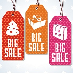 Sale tags design for price vector image