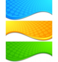 vector bright banners vector image vector image