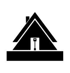 lodge vector image vector image