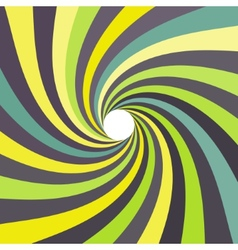 3d spiral abstract background Optical Art vector image