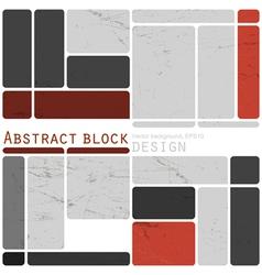 abstract design blocks vector image