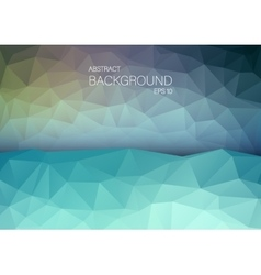 Art backgound for web Abstract triangle shapes vector image
