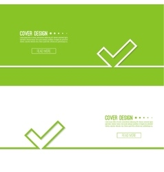 background with check vector image