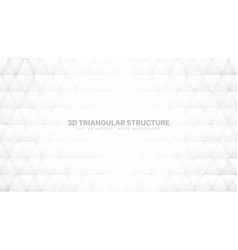 Conceptual 3d triangles pattern technological vector