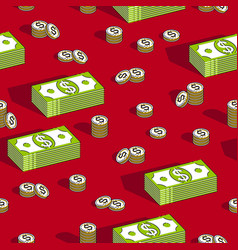 money cash seamless background backdrop for vector image