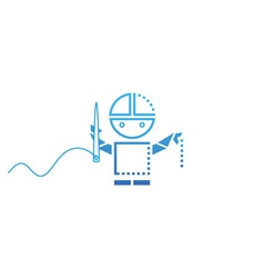 Robot-Tailor-380x400 vector image