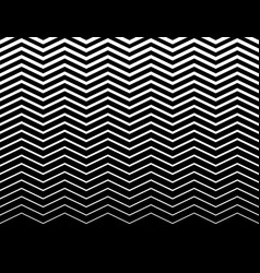 Wavy zigzag lines pattern horizontally seamlessly vector