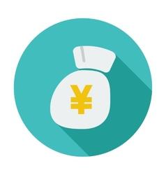 Yen icon vector image