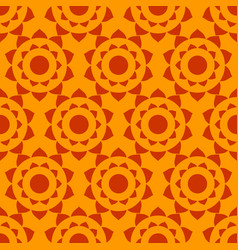 ethnic abstract geometric seamless pattern vector image