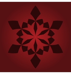 Luxury burgundy seamless pattern vector image