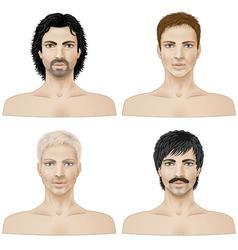 Men vector image vector image