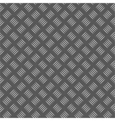 seamless metal treadplate vector image