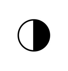adjust brightness icon sign symbol vector image