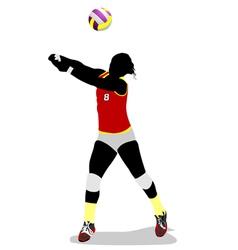 Al 0403 volleyball 02 vector