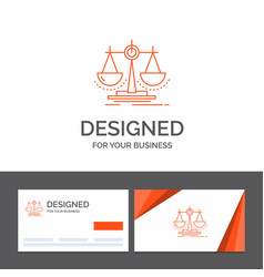 business logo template for balance decision vector image