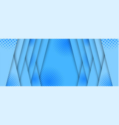 Comic abstract light blue horizontal background vector
