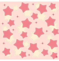 Pinr stars background vector